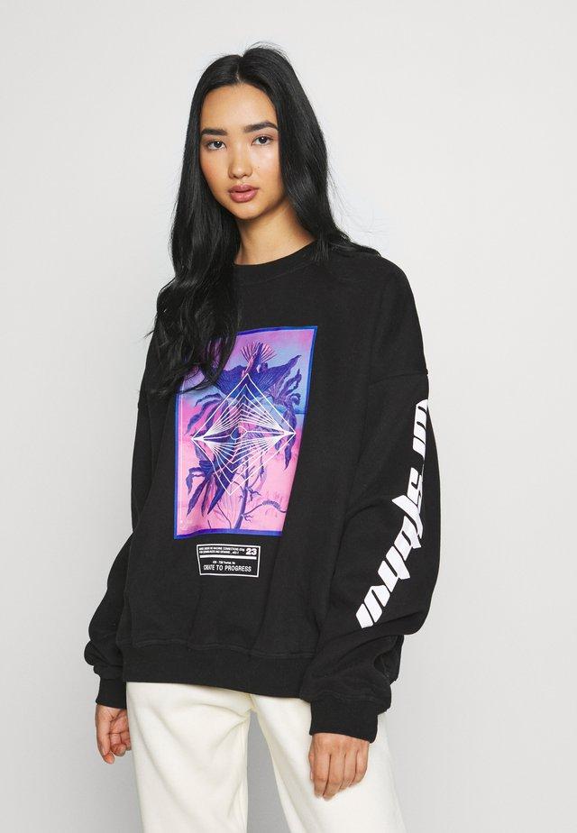 ACCESS - Sweatshirt - black
