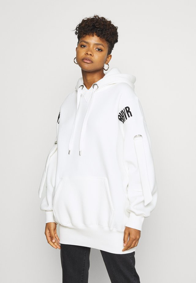 HOODIE DRESS ERROR - Sukienka letnia - off-white