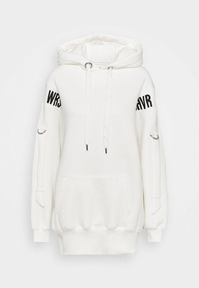 HOODIE DRESS ERROR - Sukienka letnia - off white