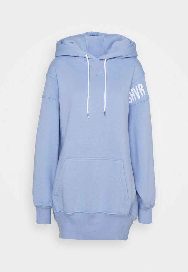 ERROR HOODIE DRESS - Sukienka letnia - baby blue