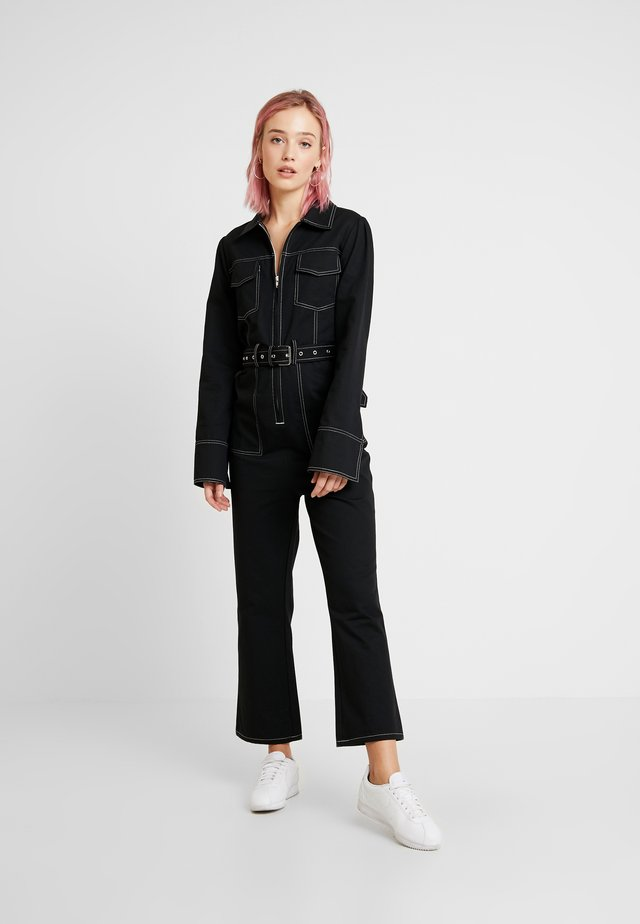 STYLE OVERALL RAVEN - Overall / Jumpsuit - black