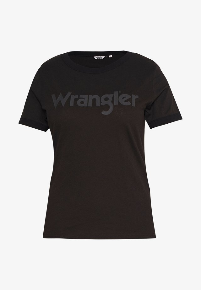RINGER TEE - T-shirts print - faded black
