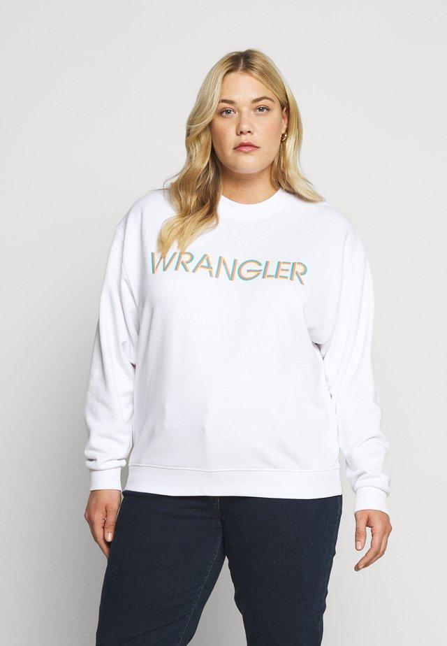 HIGH RETRO - Sweatshirt - white