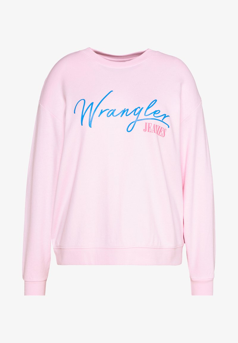 Wrangler Plus - HIGH RETRO - Sweatshirt - cradle pink