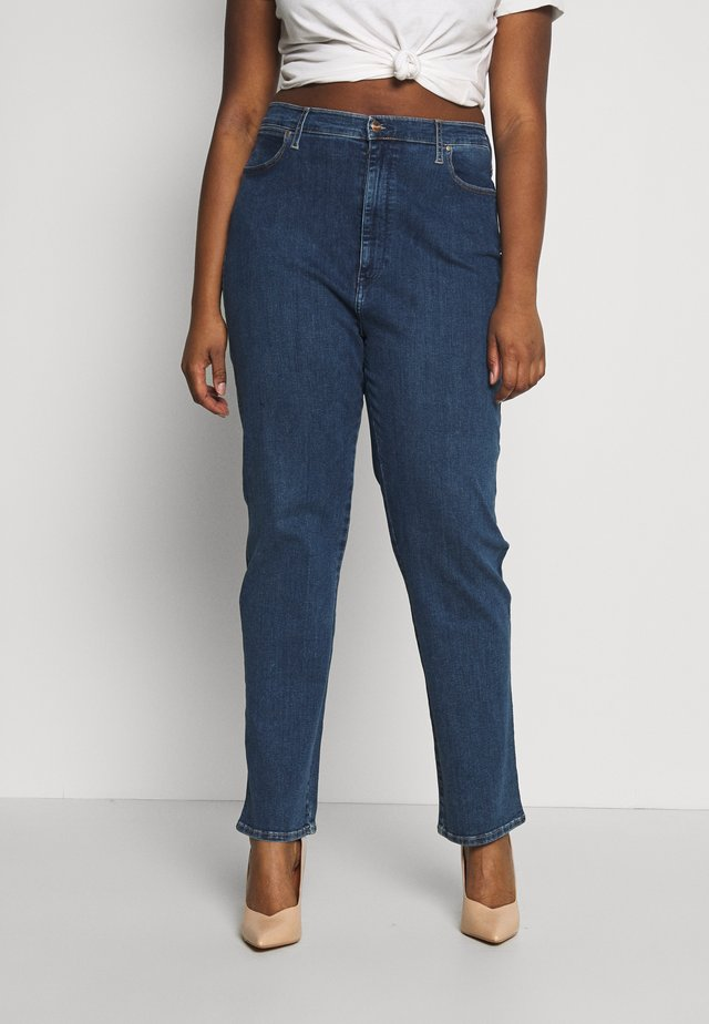 PLUS - Jeansy Straight Leg - dark blue