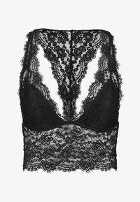 Women Secret - HALTER TOP - Brassière - black - 4