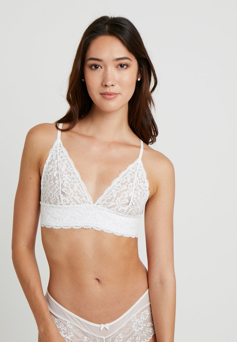 Women Secret - TRIANGULAR - Sujetador sin aros - off white standard