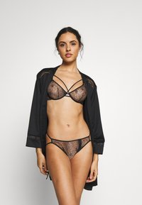 Women Secret - EMBO - Underwired bra - black corse - 1