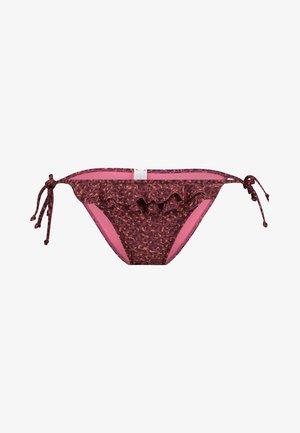 RUFFLE SIDE STRING BRASILIEN BRIEF - Bikini bottoms - various