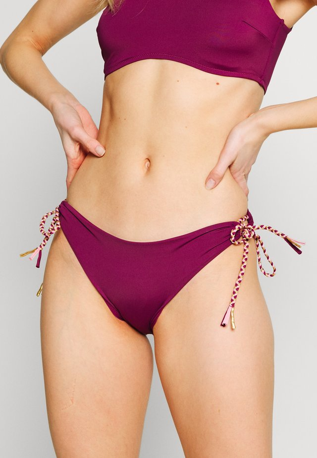 HIPSTER BRIEF - Bikini-Hose - aubergine
