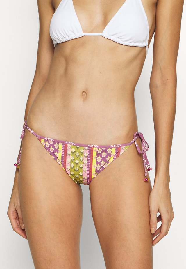 SIDE BRIEF REVERSIBLE - Bikiniunderdel - aubergine