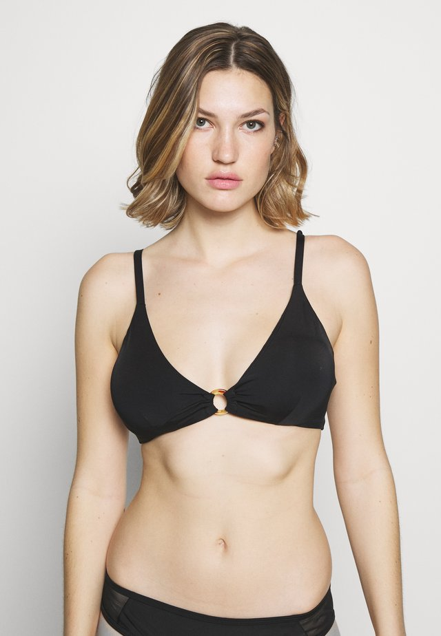 CAPACITY UNDERWIRED - Bikini top - black