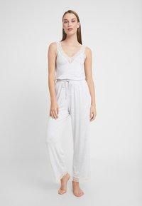 Women Secret - SET - Pyjama - light melange - 1