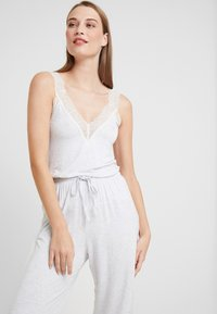 Women Secret - SET - Pyjama - light melange - 3