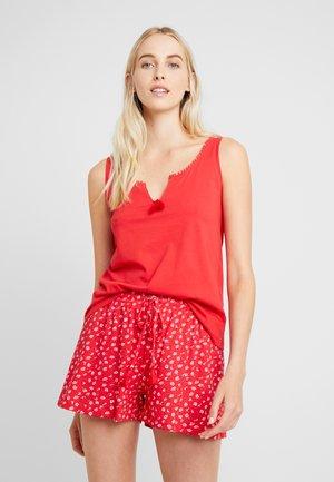 FLOWER SET - Pyjama - poppy red