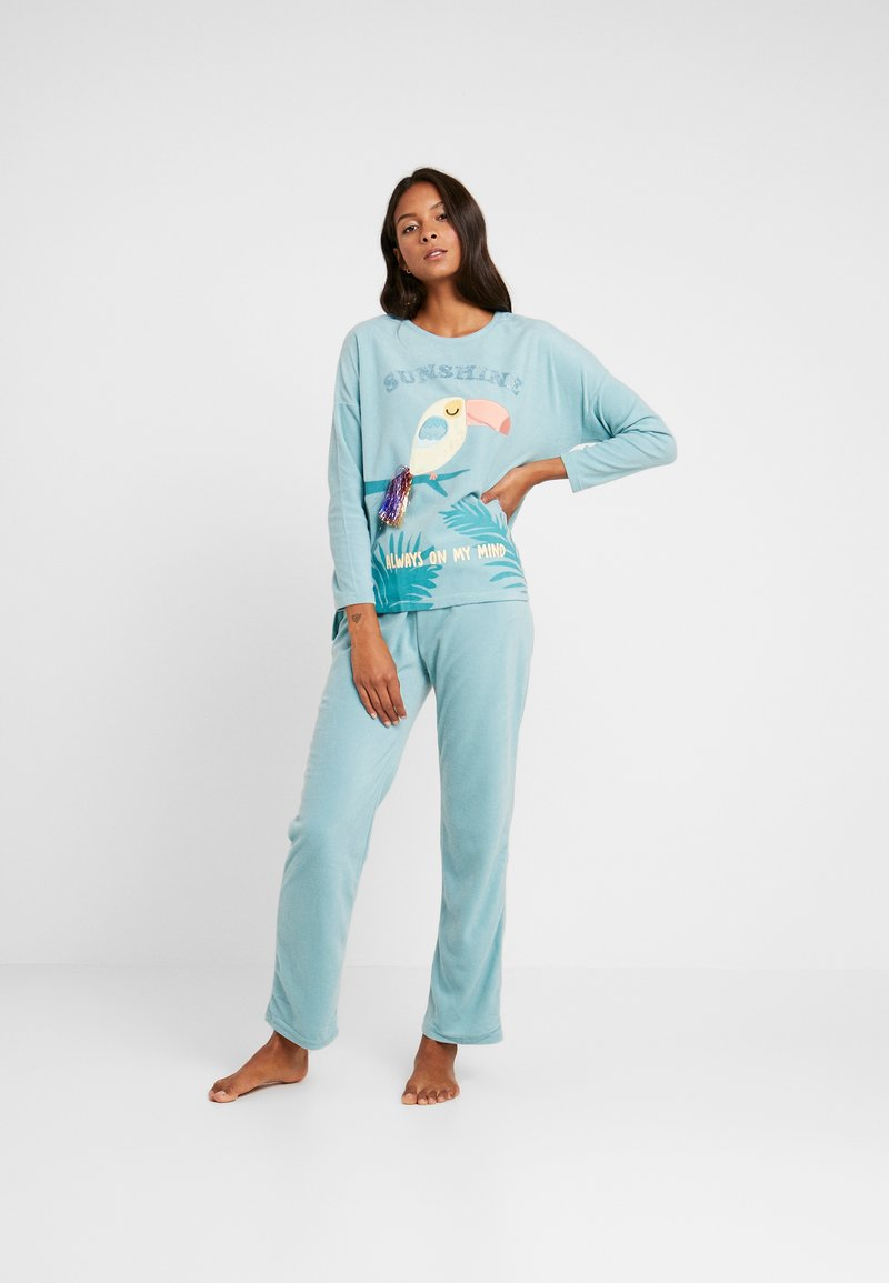 Women Secret - TOUCAN SET - Pyjama - light mint