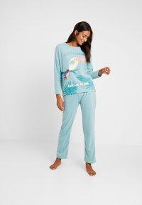 Women Secret - TOUCAN SET - Pyjama - light mint - 1