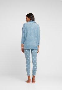 Women Secret - SWAN SET - Pyžamo - blue melange - 2