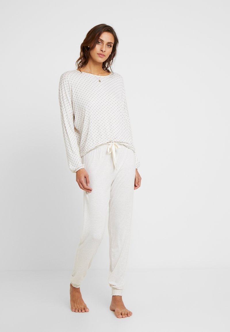 Women Secret - PANTS SET - Pyjama - beige