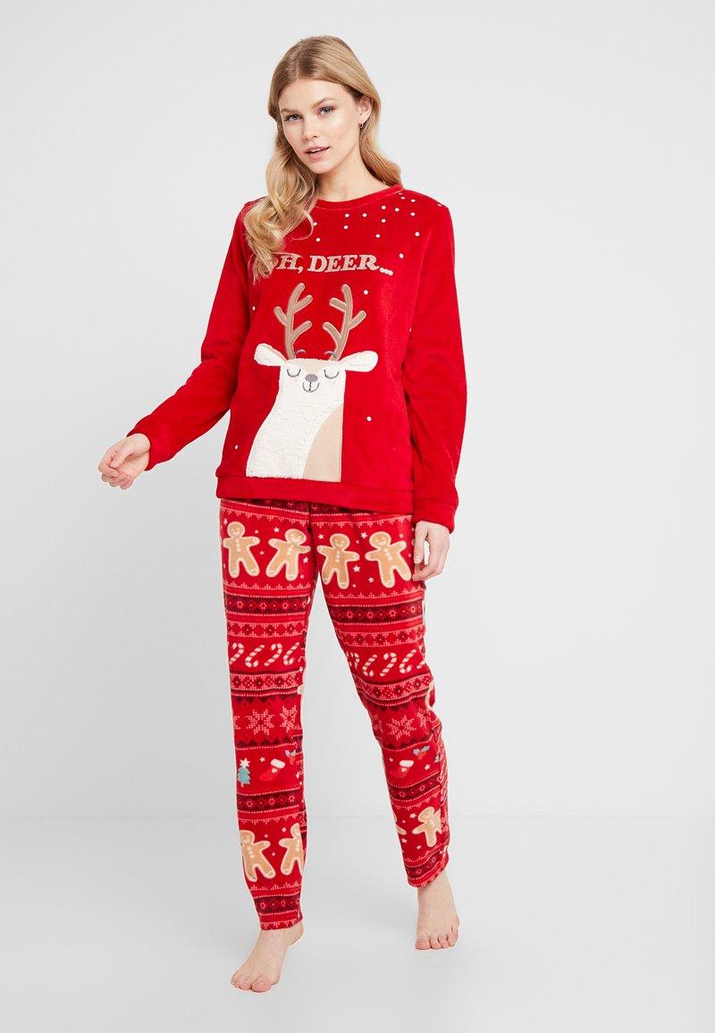 Women Secret - OH DEER - Pyjama - tomato
