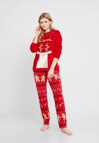 Women Secret - OH DEER - Pyjama - tomato - 1