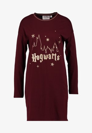 HOWARTS - Noční košile - ruby wine