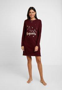 Women Secret - HOWARTS - Camicia da notte - ruby wine - 0