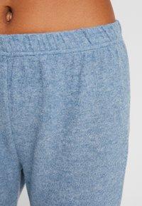 Women Secret - POODLE SET - Pyjama set - blue melange - 5