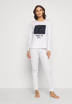MICKEY & MINNIE GALAXY SET - Pyžamo - light melange