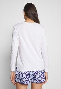 Women Secret - LONG PYJAMA - Pyjamasoverdel - white - 2