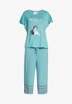 CAPRI SET - Pyžamová sada - turquoise dust
