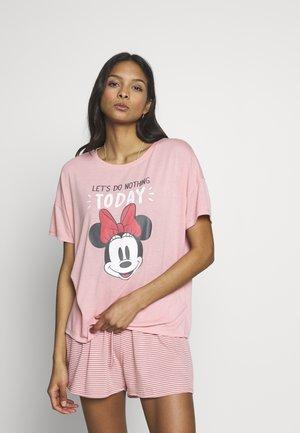 SHORT SET - Pyjama - valentine pink