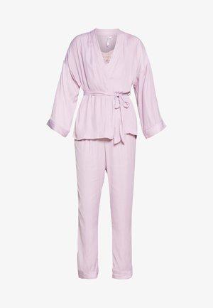 LONG SET - Pyjama - dust plum