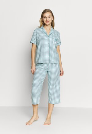 SHORT SLEEVES CAPRI PANT SET - Pyjamas - various