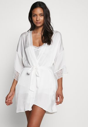 SHORT ROBE - Dressing gown - white