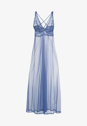 LONG NIGHTDRESS - Nattskjorte - dream blue