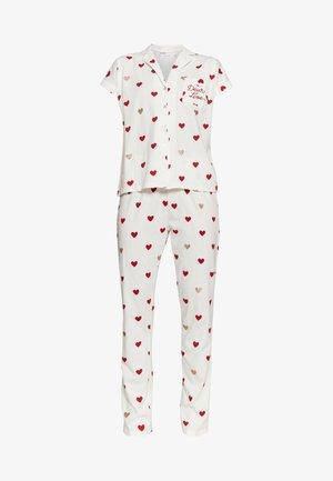 SHORT SLEEVES MASCULINE  - Pyjama - beige