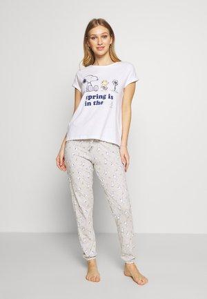 LONG SET - Pijama - white