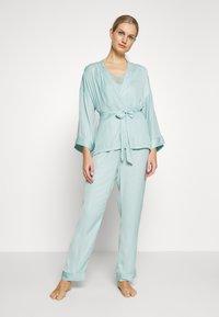 Women Secret - SET - Pyžamová sada - dusty turquoise - 0