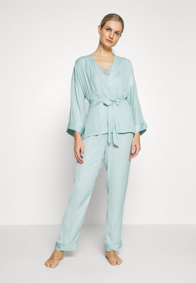 Women Secret - SET - Pyžamová sada - dusty turquoise