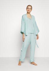 Women Secret - SET - Pyžamová sada - dusty turquoise - 1