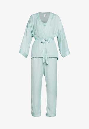 SET - Pyžamová sada - dusty turquoise