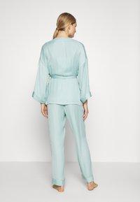 Women Secret - SET - Pyžamová sada - dusty turquoise - 2