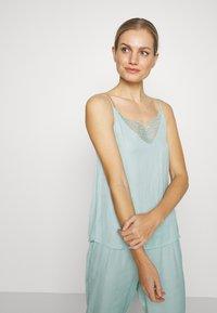 Women Secret - SET - Pyžamová sada - dusty turquoise - 3
