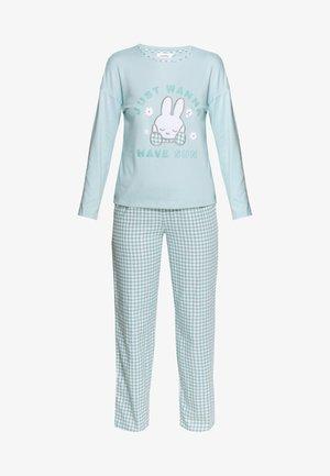 LONG SLEEVES LONG PANT SET - Pyjamas - mint