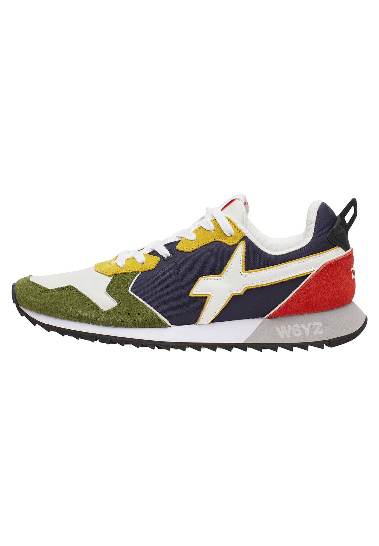 W6YZ JET-M - Trainers - gold/military green
