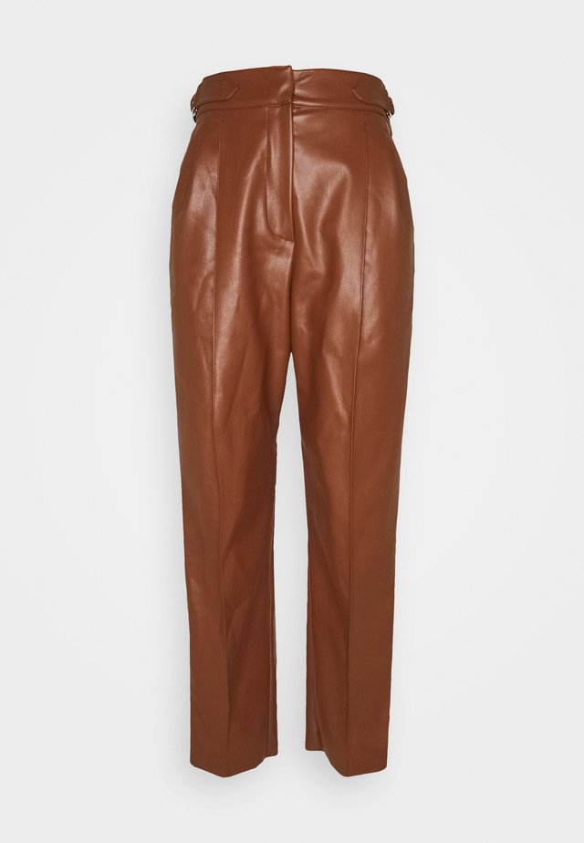 LORIS - Spodnie materiałowe - taback
