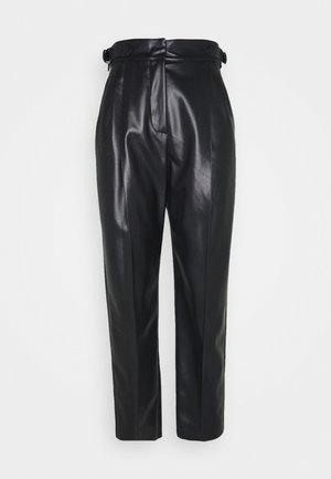 LORIS - Spodnie materiałowe - black