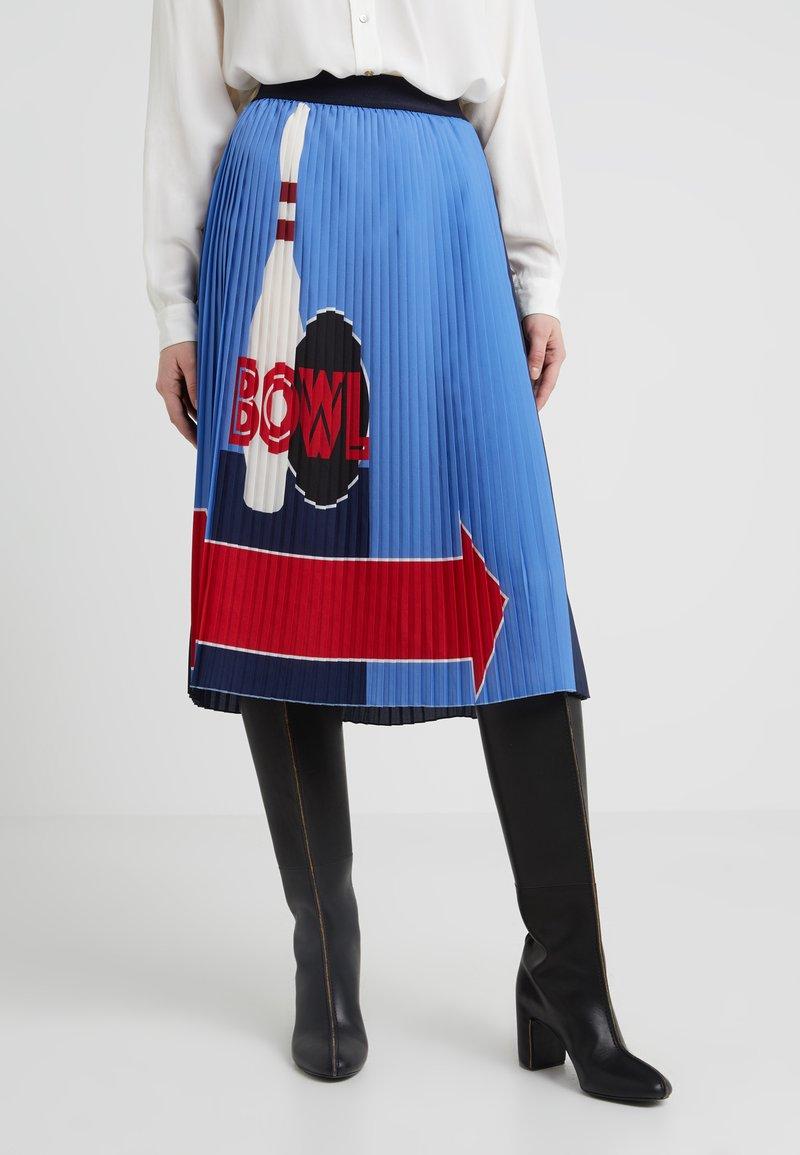 Sportmax Code - TENEBRE - Áčková sukně - azurblau