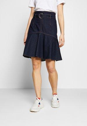 SAMPARA - A-line skirt - nachtblau